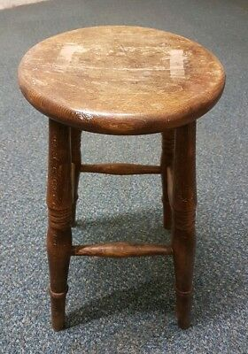 Vintage Solid Wooden Stool