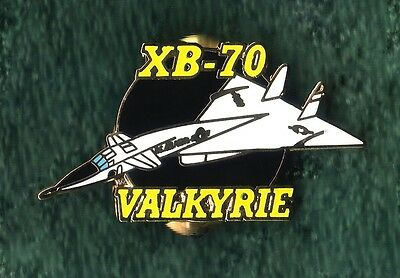 NEW North American XB-70 XB70 Valkyrie Experimental Mach 3 Jet Pin for Hat/Lapel