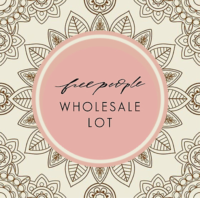 NEW WITH TAGS Free People Women's Wholesale Reseller's Mixed Boho Clothing Lot