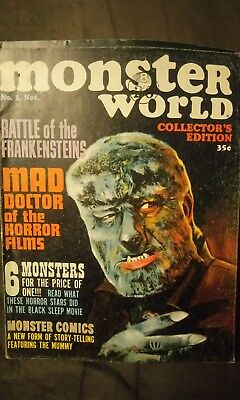 Monster world magazine 1964 & 1966