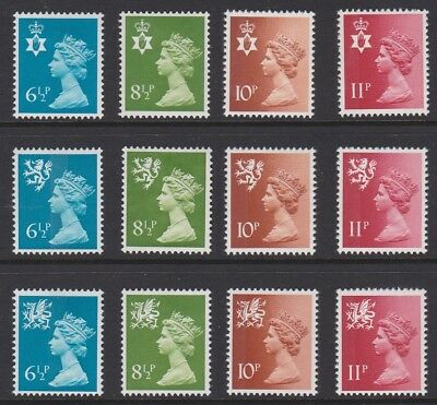 GB EII Regionals 1976 definitive issue mint MNH