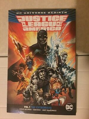 Justice League of America Vol. 1 : The Extremists TPB DC Comics