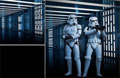 Poster Backdrop~Star Wars~Imperial Passage For 1/6 Hot Toys Figures Darth Vader