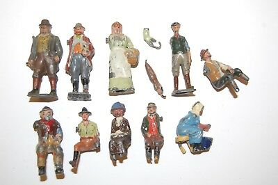 Job Lot Of Pre War Britains And Other Makers Lead Farm Workers