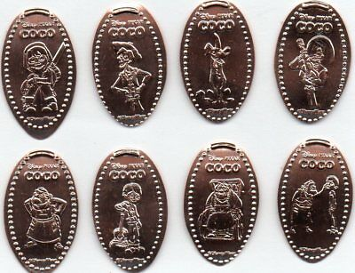 New Disneys Epcot Mexico  Elongated Penny Set