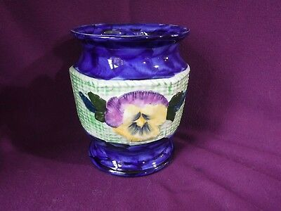 Ringtons Ltd - Maling Ware Pansy Vase / Fower pot