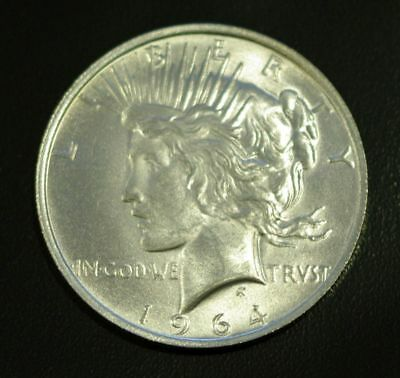 Daniel Carr 1964-D Peace Dollar Die Pair 6 Bulk Handling Finish
