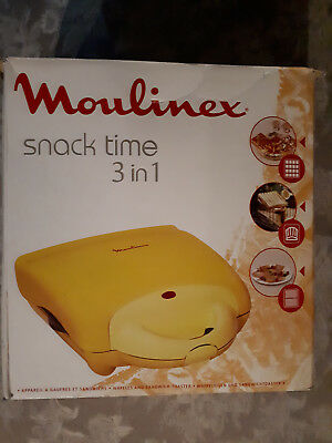 Snack Time Moulinex 3 in 1