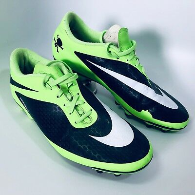 new product 3eb11 317f4 Men Nike HyperVenom Phade III FG Soccer Cleats Shoes Black   Green,  599809-310