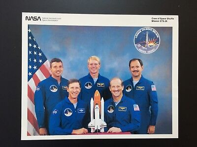 RARE NASA Employee Issue Preview Photo: Crew Space Shuttle Mission STS-26