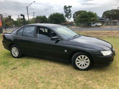 2004 Holden Commodore VZ Acclaim Black Automatic 4sp A Sedan