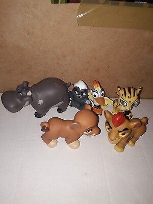 Disney The Lion Guard  6 Toy Figures Bundle