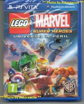 LEGO Marvel Super Heroes Universe in Peril  'New & Sealed' *PS VITA*