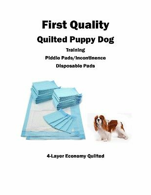 """600  17x24"""" FIRST QUALITY Puppy Dog Wee Wee Training Pee/Incontinence Pads 20gr"""