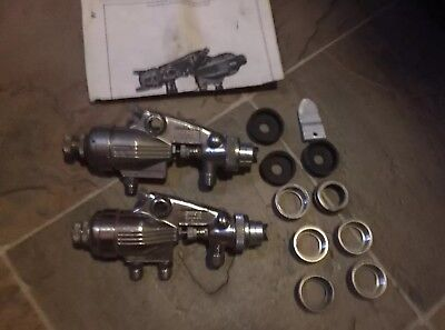 (QTY 2) Binks Model 21 Spray Gun's with extra parts Used