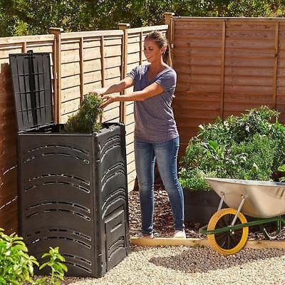 Large 500L Compost Bin Organic Waste Eco Friendly Plastic Recycling Composter