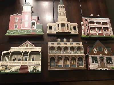 Shelia's Collectible Houses Lot Of 6