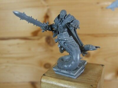 Converted Plastic Warhammer Chaos Champion Hero Lord Unpainted (060)