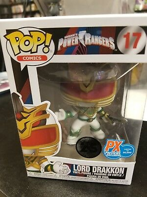 Funko Pop! Lord Drakkon Power Rangers MMPR PX Previews Exclusive (box damage)