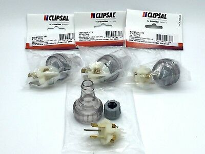 Clipsal 439S15HD-TR Plug Straight 3 Pin 15A 250V ac Heavy Duty x4