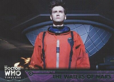 GREEN Parallel 68 The Waters of Mars 10th Tenth Doctor Who Timeless 2016 Topps