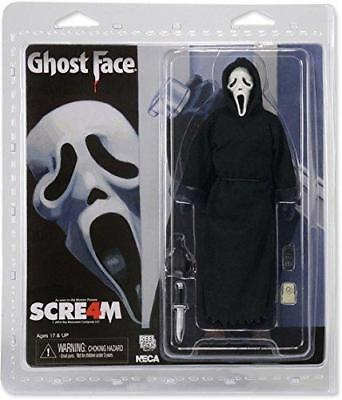 """NECA Scream Ghost Face Clothed 8"""" Action Figure"""