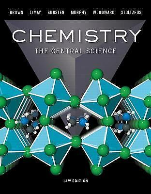 EBOOK Chemistry: The Central Science 14th Edition by Brown, LeMay, Bursten