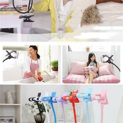 Flexible Lazy Bracket Mobile Cell Phone Stand Mount Holder Bed Desktop TO