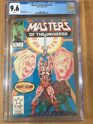 Masters Of The Universe 1 (May, 1986) - Cgc 9.6 White Pages