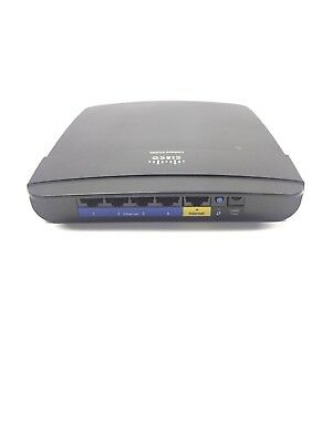 CISCO LINKSYS E1200 300 Mbps 4-Port 10/100 Wireless N Router WITH DD-WRT