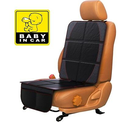 Yellow Price Baby Easy Clean Non Skid Watherproof Car Seat Protector Mat Duomat