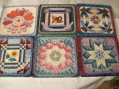 collection bradford exchange quilt plate lot season of home mary ann Lasher home