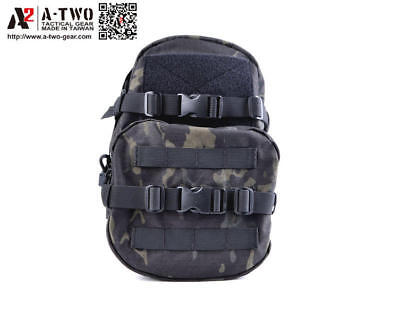 A-TWO | Tactical MiniMap MBSS Small Hydration Carrier Backpack || Multicam Black