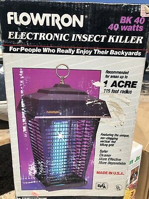 STINGER UV40 HIGH PERFORMANCE 1 Acre Bug Mosquito Flying Insect