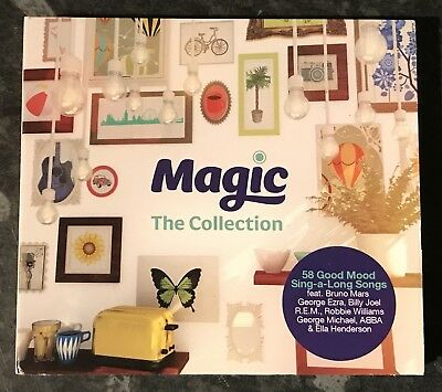Magic The Collection - (3-Disc Music Cds) Abba-Bruno Mars Etc Good As New Free P
