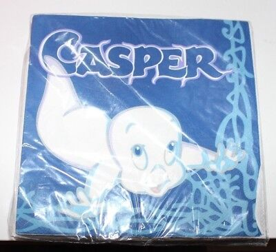 CASPER THE FRIENDLY GHOST 1995 PACK OF 16 NAPKINS NEW SEALED ~13x13""