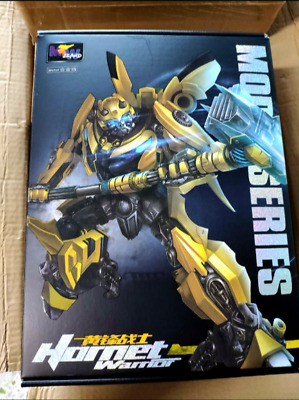 Hot, Transformers enlarged MPM03 metal version of the bumblebee warrior toy