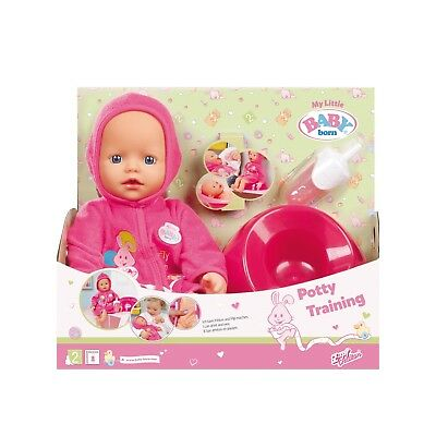 My Little Baby Born - Potty Training Doll 823460 NEW