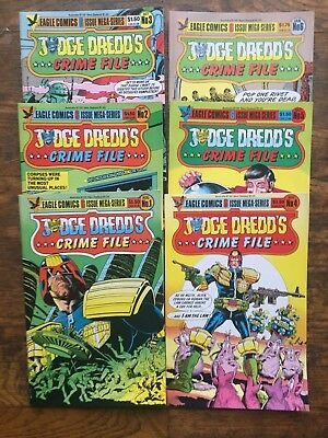 Judge Dredd's Crime File #s 1-5, Complete Series-VF/NM,Combined Shipping!