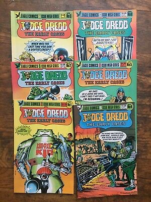 Judge Dredd The Early Cases #s 1-6, Complete Series-VF/NM,Combined Shipping!