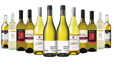 Australia Day Explorer White Wine Mixed 12x750ml Free Shipping