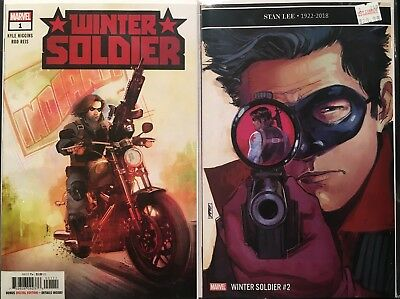 Winter Soldier 1 2 1st Appearance R J First Class Shipping