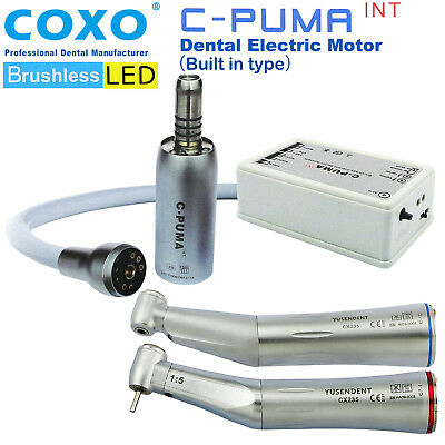 7fa24d2df17c0 COXO C-PUMA INT Dental LED Electric Mini Micro Motor Brushless Built in NSK