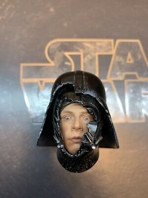 Hot Toys DX07 Star Wars Sideshow exclusive 1/6 Luke Skywalker Vader helmet