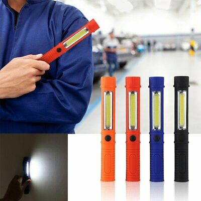 Magnetic Portable LED COB Inspection Lamp Work Flashlight Light Hand USB Torch