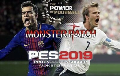 PATCH Pro Evolution Soccer PES 2019 PS4 Option File - ULTIMA VERSIONE AGGIORNATA