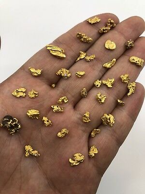 Australia Natural Gold Nugget / Nuggets Weight 17.41 Grams