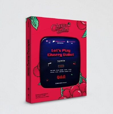 Cherry Bullet 1st Single Album [Let's Play Cherry Bullet] CD+Book+Card+Sticker