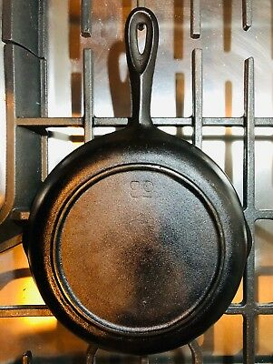 Vintage Cast Iron Skillet, 5B, #1, Raised Ring Base, possibly BSR - USA, c1940s?