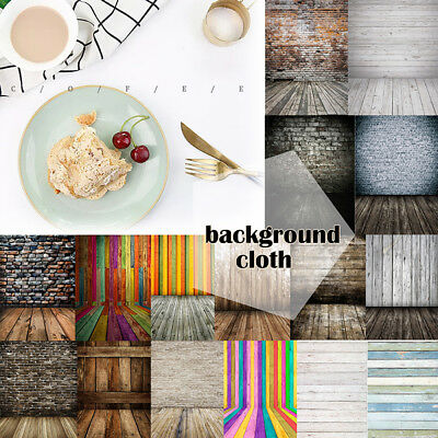 3x5ft Wood Plank Board Photo Backdrop Clothes Jewelry Food Background Party UK